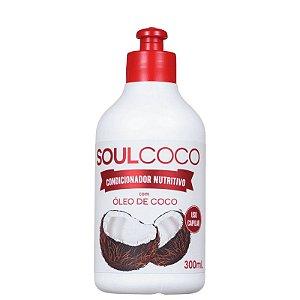Condicionador Nutritivo Soul Coco Retrô Cosméticos 300ml