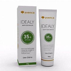 Creme Antissinais Idealy 35+ Anti-Idade Avenca Cosméticos 30g