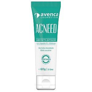Sabonete Anti Acne Acneed Avenca Cosméticos 60g