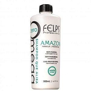 Shampoo Alisante Omega Zero Amazon Felps Professional 500ml