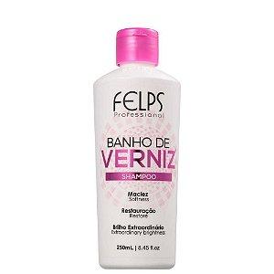 Shampoo Banho de Verniz Brilho Intenso Felps Professional 250ml