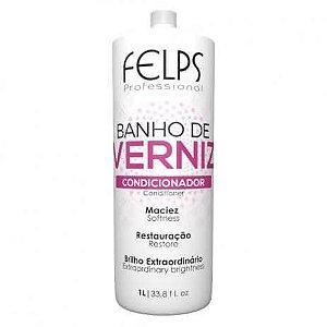 Condicionador Banho de Verniz Brilho Intenso Felps Professional 1000ml