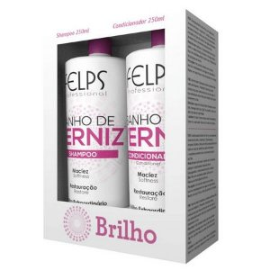 Banho de Verniz Felps Profissional Kit (2 Produtos)