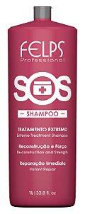 Shampoo de Reconstrução Extrema SOS Felps Professional 1000ml
