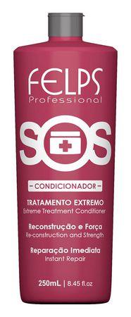Condicionador de Reconstrução Extrema SOS Felps Professional 250ml