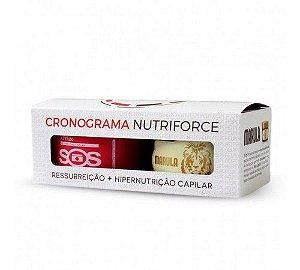 Cronograma Capilar SOS + Marula Felps Profissional - Kit (2 Produtos)