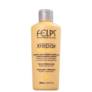 Shampoo Xrepair Bio Molecular Felps Profissional 250ml