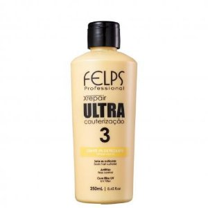 Leave-In Xrepair Ultra Cauterização Defrizante Felps Professional 250ml