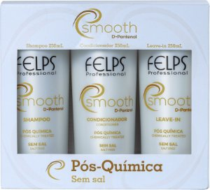 Kit Felps Professional Smooth Trio (3 Produtos)
