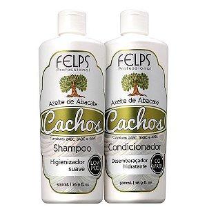 Kit Felps Profissional Cachos Azeite de Abacate (2 Produtos)