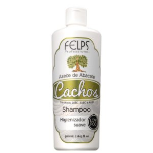 Shampoo Cachos Azeite de Abacate Low Poo Felps Profissional 500ml