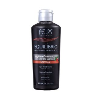 Shampoo Equílibrio Argila e Guaraná Equilíbrio Felps Profissional 250ml