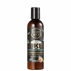 Condicionador Crescimento Barba e Cabelo Felps Men Poker 240ml