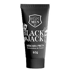 Máscara Preta Removedora de Cravos Black Jack Felps Men 60g