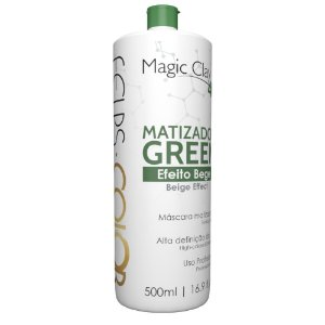 Matizador green 4K Efeito bege Magic Clay Felps Professional 500ml
