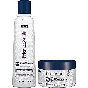 Shampoo e Máscara Multi Reconstrutora Prismcolor Richée Professional Kit (2 Produtos)