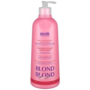 Matizador Condicionador Blond Platinum Richée Professional 500ml