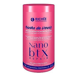 Banho de Verniz Máscara Intensificadora de Brilho NanoBtx Richée Professional 1kg