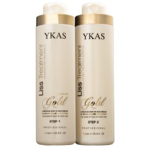 Escova Progressiva Ouro Liss Treatment Gold Ykas 2X1000ml