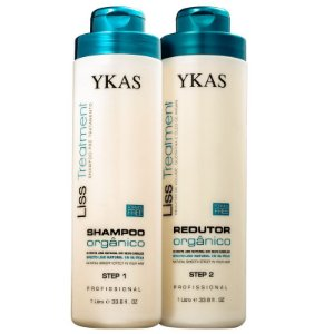 Escova Progressiva Liss Treatment Orgânico Ykas Kit - 2x1000ml