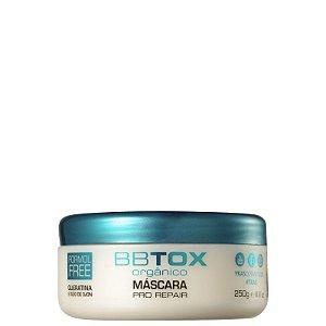 BBtox Máscara de Alinhamento Capilar Orgânico Pro Repair Ykas 250g