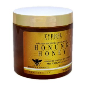 Máscara Repositora de Colágeno Honung Honey Mel Tyrrel Professional 500g