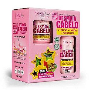 Desmaia Cabelo Kit Especial Com Shampoo 300ml e Máscara Forever Liss 200g