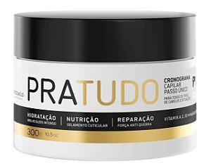 Máscara PraTudo 30 Ativos Hidrata Nutre Repara Borabella Professional 300g