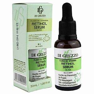 Serum Fluído de Vitamina Retinol Oil Free 30ml Di Grezzo Cosméticos