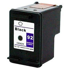 Cart. Tinta Compat. MyToner para HP HP 92 | C9362WB | Preto
