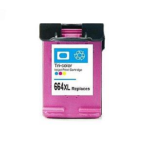 Cartucho de Tinta Compatível MyToner para HP 664XL Color