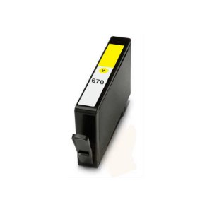 Cart. Tinta Compat. MyToner para HP HP 670 CZ116AB Amarelo