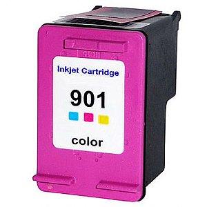 Cart. de Tinta Compat. MyToner para HP HP 901XL 901 CC656AB Colorido