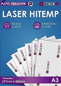 Papel Transfer 100 folhas Colorjet Laser HiTemp A3