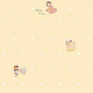 Papel de parede Girl (Infantil) - Cód. GB70902
