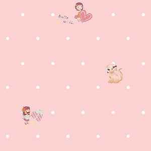 Papel de parede Girl (Infantil) - Cód. GB70903