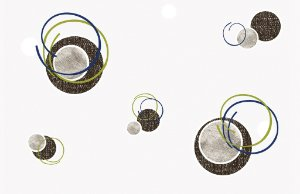 Papel de parede Iris cod. 6661-1