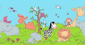 Papel de parede Safari Frieds Border  (Infantil) - Cód. SF6929