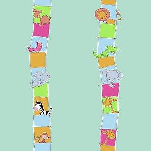 Papel de parede Safari Frieds (Infantil) - Cód. SF6208