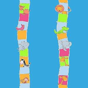 Papel de parede Safari Frieds (Infantil) - Cód. SF6213