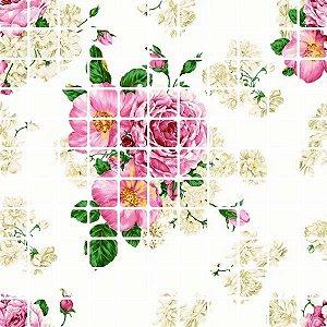 Pastilha Revest Max Floral Rosê