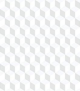 Papel de parede cubos geométricos - Bobinex cód. 3645