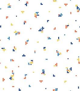 Papel de parede geométrico - Bobinex cód. 3632