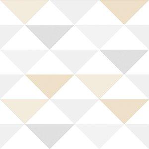 Papel de parede triângulo geométrico - Bobinex cód. 3603