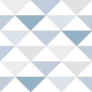Papel de parede triângulo geométrico - Bobinex cód. 3601