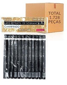 Lápis Chanfrado de Sobrancelha – Bella Femme BF10035 – Caixa Fechada com 144 Dúzias