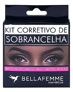 Kit Corretivo para Sobrancelha – Bella Femme BF10043 – Caixa Fechada com 288 peças