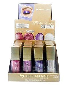 Sombra Líquida Glitter - Color – Display com 16 unidades