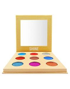 Paleta de Sombras Shine – Display com 12 estojos