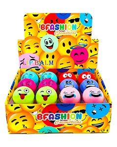 Lip Balm Emoji – BFashion NR50005 – Caixa Fechada com 24 Displays